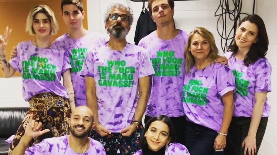 """Torcida de Manu Gavassi vai ao paredão do """"BBB 20"""" em apoio à participante, que escapa da eliminação - Reprodução/Instagram"""