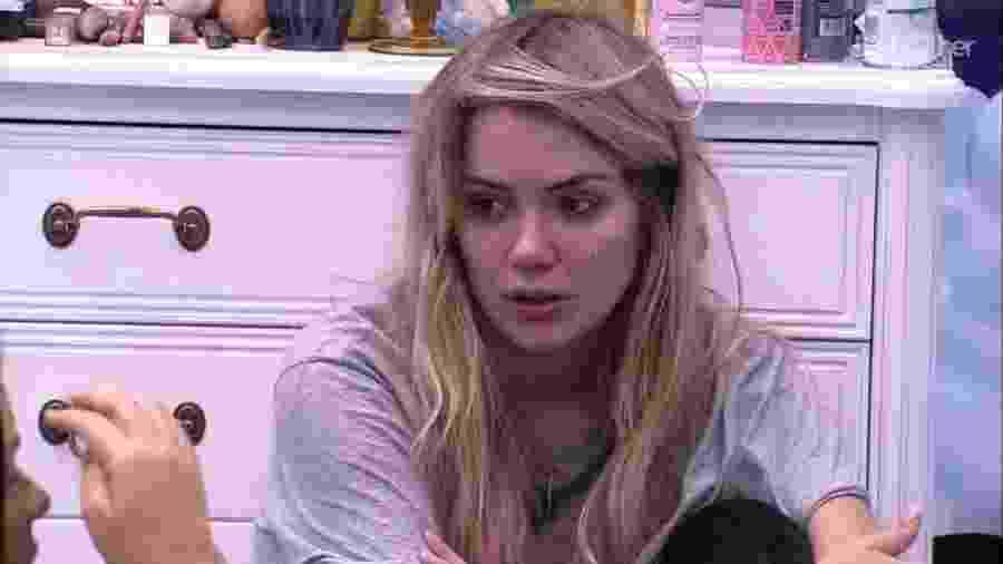 BBB 20 - Marcela conversa com Ivy no quarto - Reprodução/Globoplay