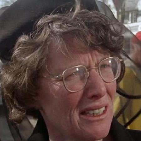 """Lee Fierro, que interpretou a Senhora Kintner em """"Tubarão"""", de 1975 - Universal Pictures"""
