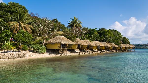 A ilha de Iririki, em Vanuatu, uma das ilhas do Pacífico que estão livres da pandemia - Getty Images - Getty Images