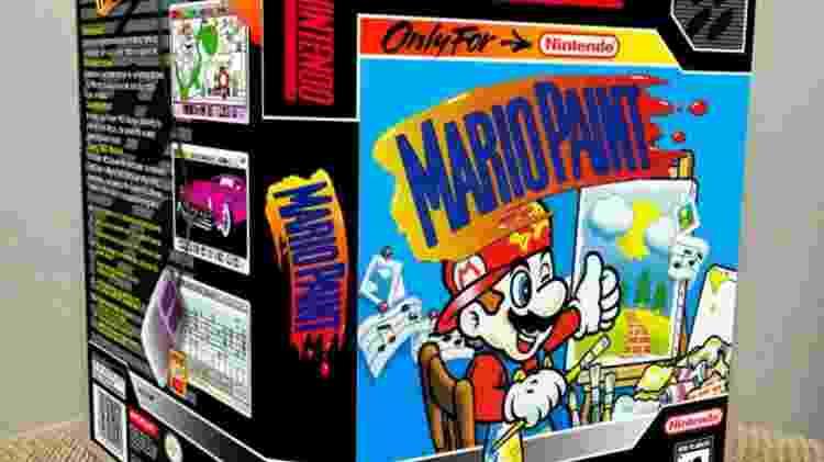 Mario Paint - Divulgação/GameCaseKing - Divulgação/GameCaseKing