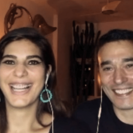 Andréa Sadi e André RIzek - Reprodução/Altas Horas/Rede Globo
