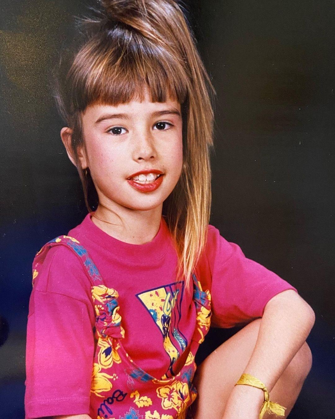 Fernanda Keulla publicou foto da infância