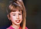 Fernanda Keulla brinca sobre foto da infância:
