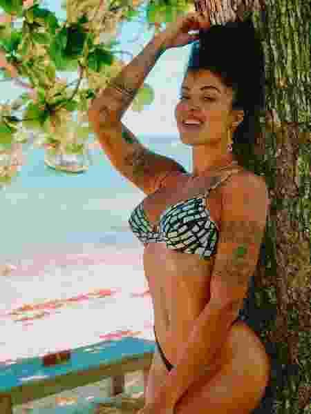 Aline Riscado passa férias em Caraíva, na Bahia - Reprodução/Instagram