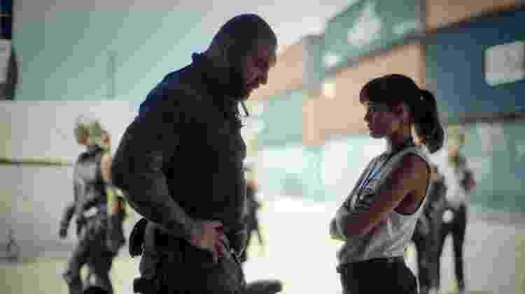 Dave Bautista e Ella Purnell em 'Army of the Dead: Invasão em Las Vegas' - Divulgação - Divulgação