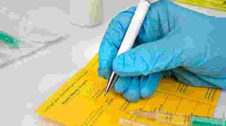 Carteira de vacinação - iStock - iStock