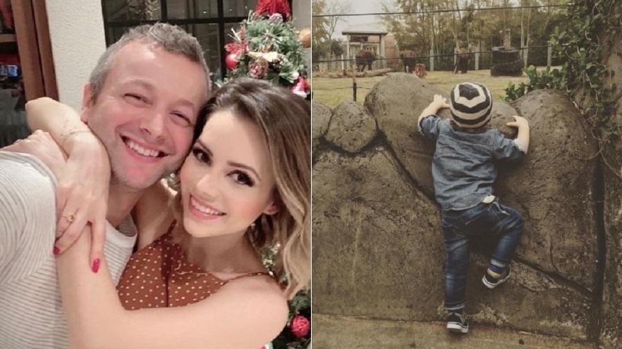 Lucas Lima e Sandy fazem homenagem para o filho no aniversário - Reprodução/Instagram