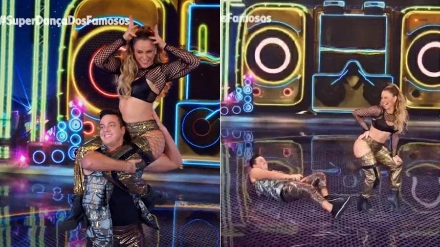 Super Dança dos Famosos: Paolla Oliveira dança funk e impressiona - Reprodução/Rede Globo