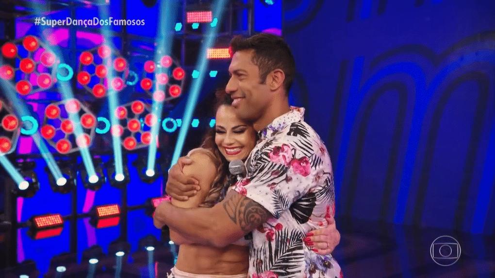 Viviane Araújo na semifinal da 'Super Dança dos Famosos'