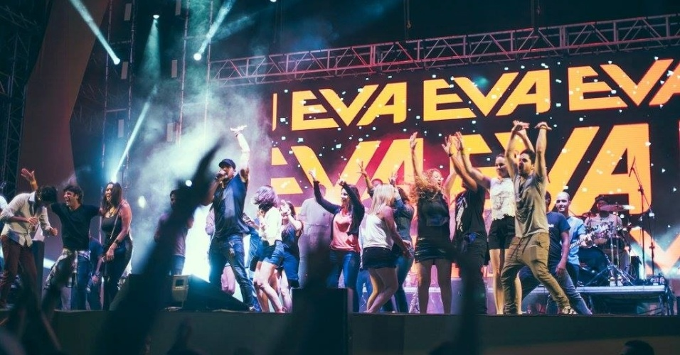 Banda Eva no CarnaUOL (23/01/2016)