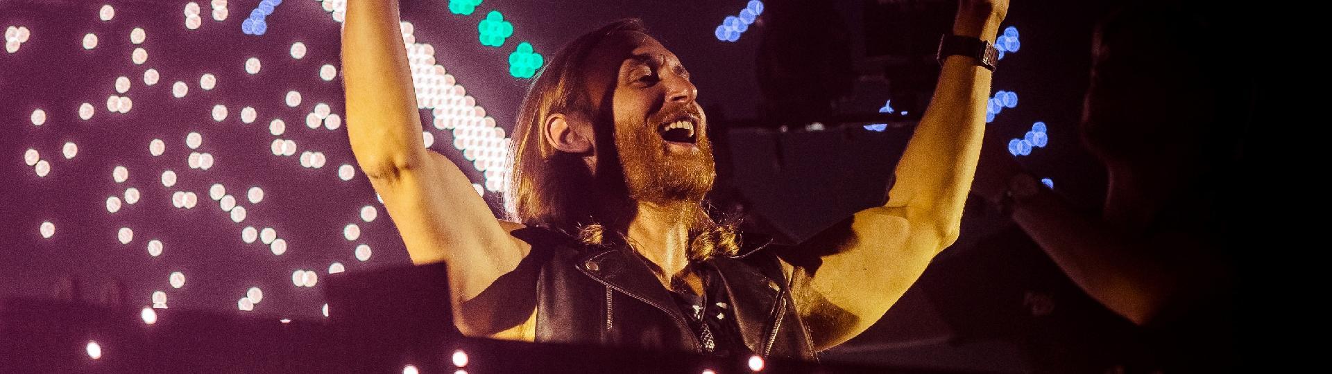 David Guetta faz show no Espaço das Américas em São Paulo