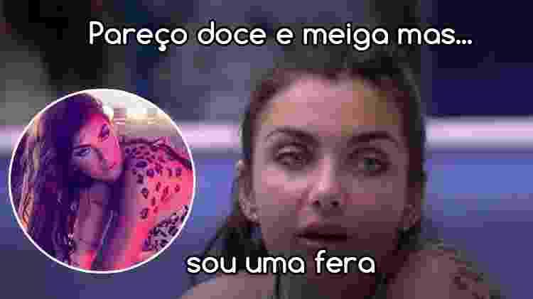 Reprodução/TV Globo e Arte/Diva Depressão