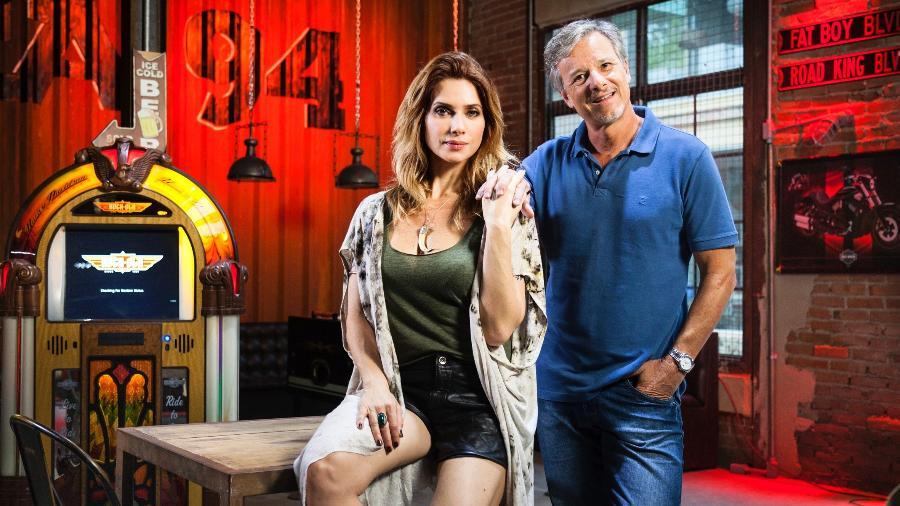 """Lenita e Vittorio (Marcello Novaes) chegam ao fim juntos em """"Sol Nascente"""" - Sergio Zalis/Divulgação/TV Globo"""