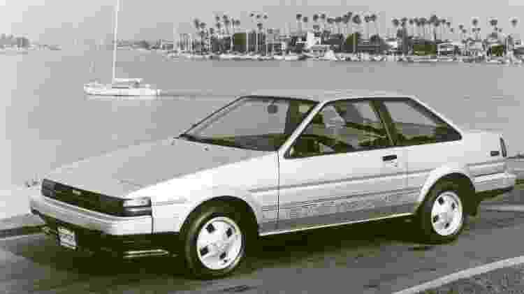 Versão cupê do Corolla GTS também é muito querida por colecionadores e inspirou o GT-86 - Divulgação - Divulgação