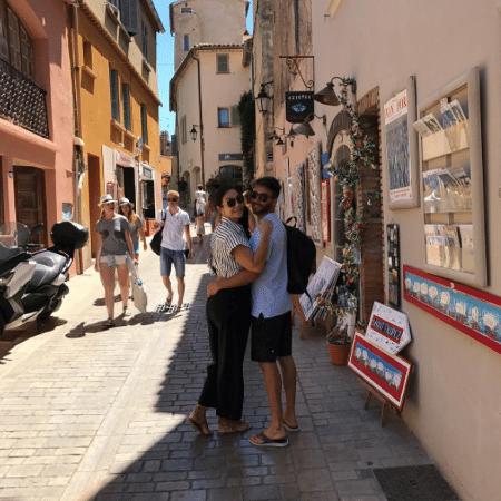 Ivete Sangalo e Daniel Cady curtem passeio em Saint-Tropez - Reprodução/Instagram/veveta