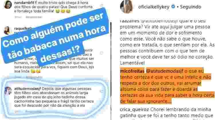 Kelly Key e Mico Freitas rebatem seguidora após acusação - Reprodução/Instagram - Reprodução/Instagram