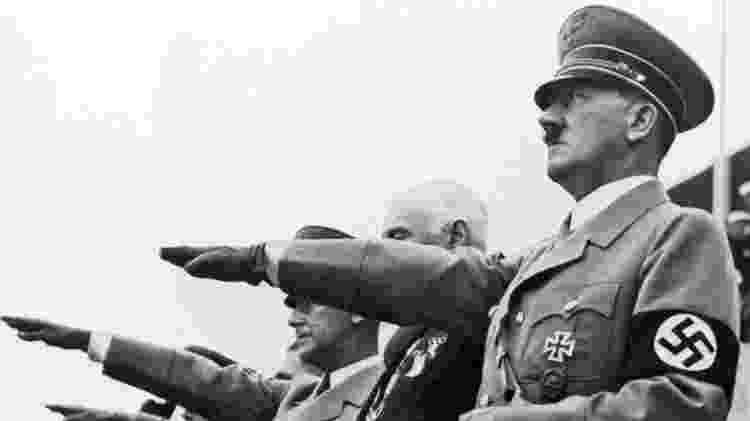 O ditador nazista Adolf Hitler foi alvo de tentativa de assassinato em 20 julho de 1944 - Reprodução