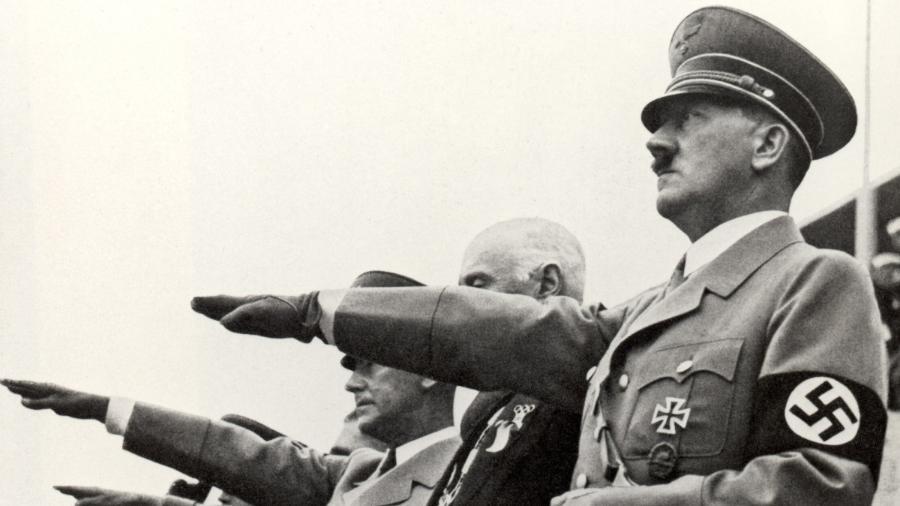 Hitler foi o comandante da Alemanhã nazista - Reprodução