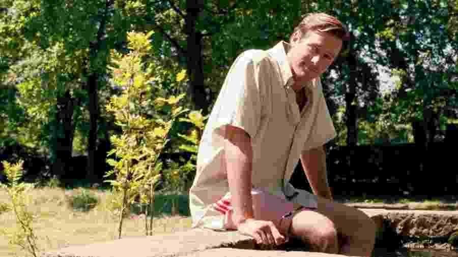 """Armie Hammer em cena do filme """"Me Chame Pelo Seu Nome"""" - Divulgação"""