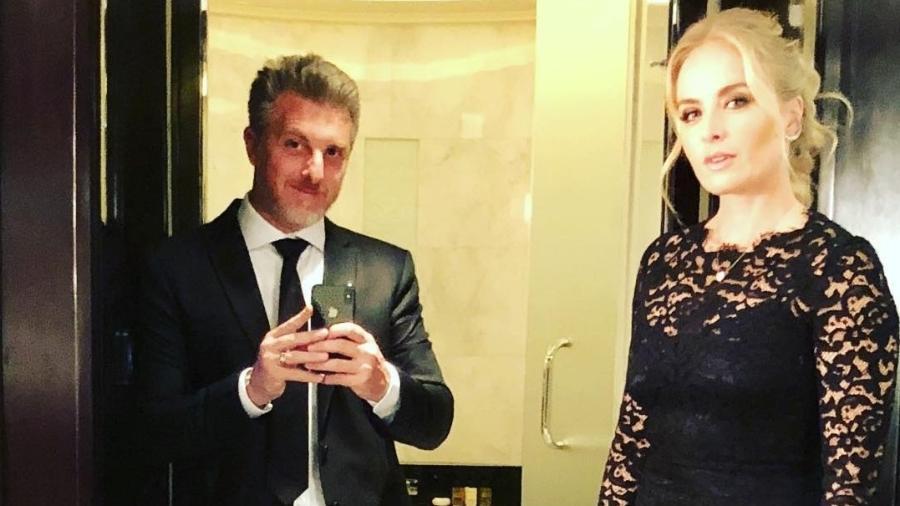 Luciano Huck e Angélica exibem traje de gala para festa de aniversário de Neymar - Reprodução/Instagram/lucianohuck