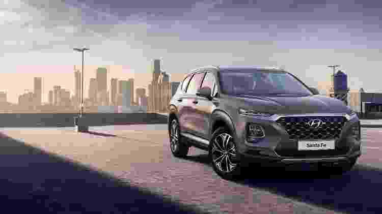 Assim será a quarta geração do Hyundai Santa Fe - Divulgação