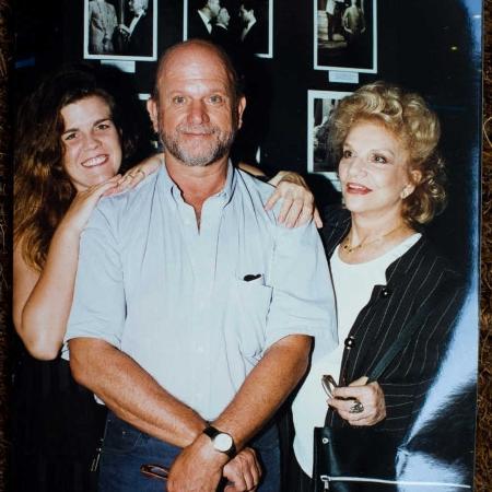 Tonia Carrero com o filho Cecil Thire e a neta Luisa Thire  - Daniel Marenco/Folhapress