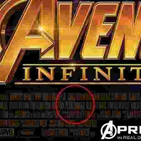 """Detalhe no pôster oficial de """"Vingadores: Guerra Infinita"""" confirma o ator Peter Dinklage no elenco - Reprodução - Reprodução"""