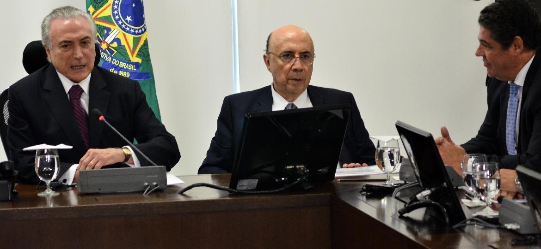 Reunião da Anfavea já aconteceu em Brasília com participação do presidente Michel Temer - Renato Costa/Folhapress
