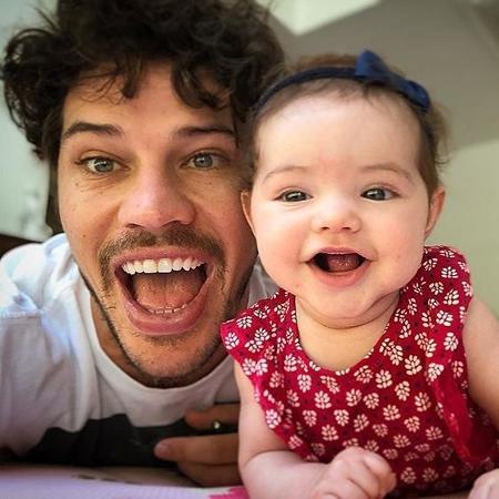 José Loreto e a filha Bella - Reprodução/Instagram