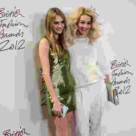 As ex-namoradas Rita Ora e Cara Delevingne - Getty Images