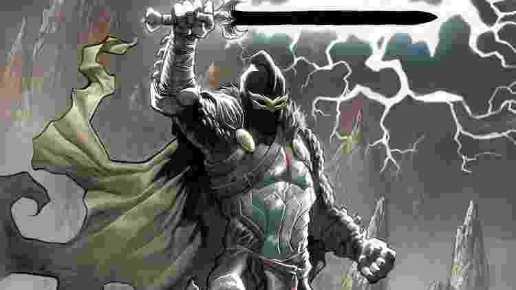O personagem Black Knight - Reprodução - Reprodução