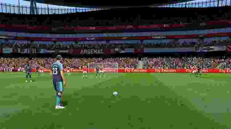 FIFA Cobrança de Falta 3 - Reprodução - Reprodução