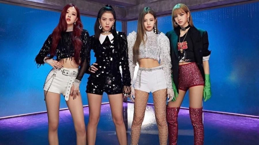 As cantoras do grupo de k-pop Blackpink - Divulgação