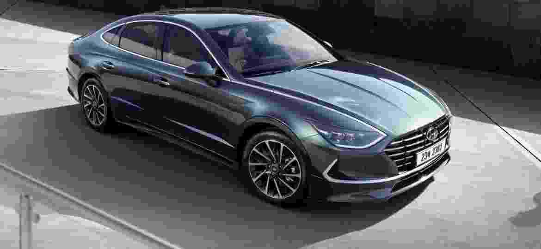 Nova geração do Sonata antecipa visual dos futuros modelos da Hyundai - Divulgação