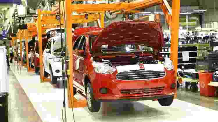 Ford Ka Camaçari - Divulgação - Divulgação