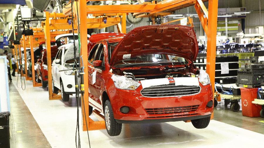 Fábrica da Ford em Camaçari (BA) está parada desde o anúncio do fim da produção nacional de veículos - Divulgação
