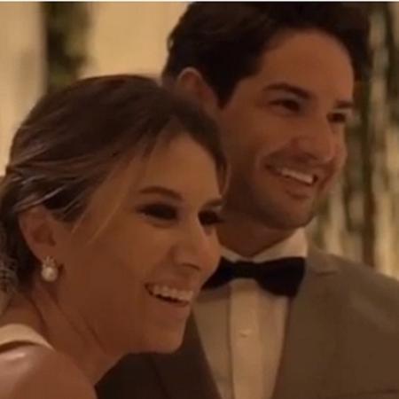 Rebeca Abravanel divulga vídeo de seu casamento secreto com Pato - Reprodução/Instagram