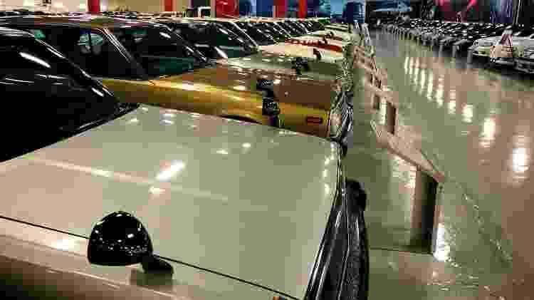 São aproximadamente 300 carros de várias épocas sob um mesmo teto - Divulgação