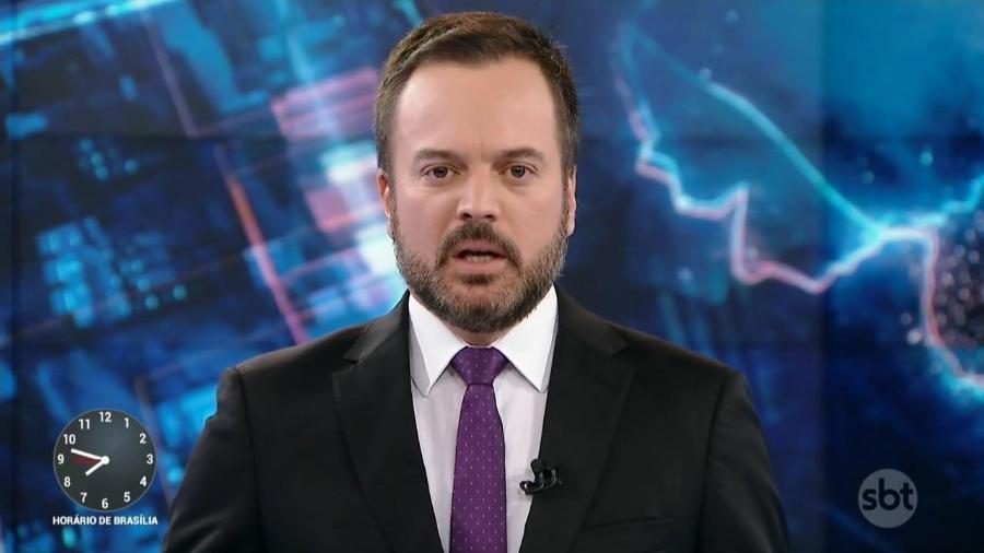 Marcelo Torres no SBT - Reprodução/SBT