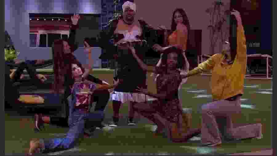 BBB 20: Babu arrasa de drag queen - Reprodução/Globo