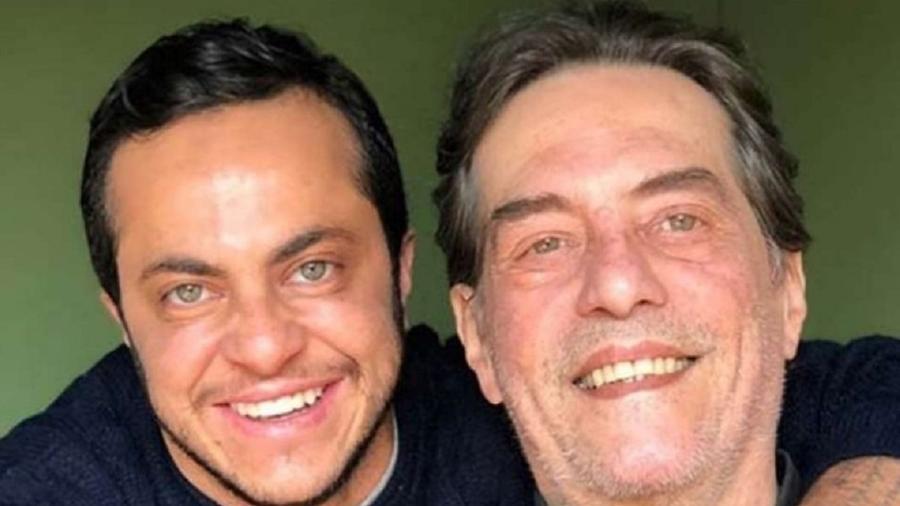 Thammy Miranda e o pai, Silva Neto - Reprodução