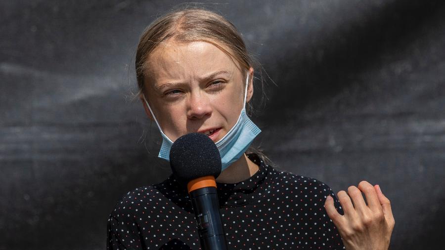 Em seu posicionamento, Greta exigiu o fim dos subsídios às indústrias dos combustíveis fósseis  - Maja Hitij/Getty Images