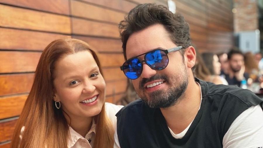 Maiara e Fernando brincaram sobre idas e vindas em lives - Reprodução/Instagram