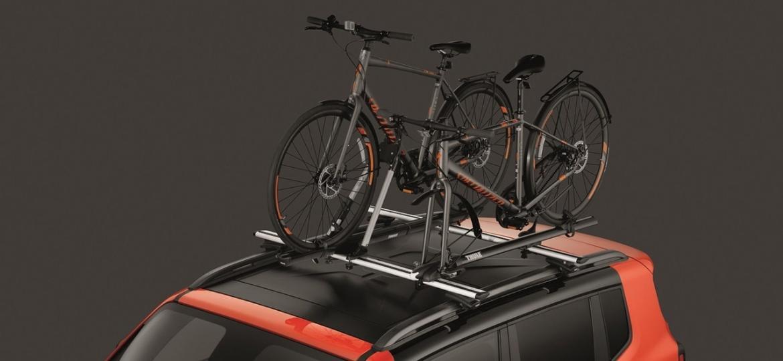 Fabricantes oferecem racks para transportar bicicletas como acessório - Divulgação