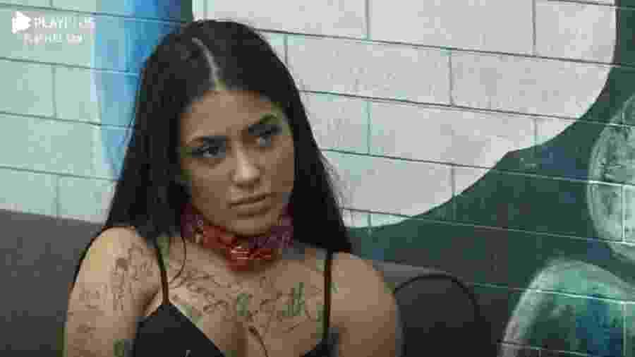 A Fazenda 2020: MC Mirella foi a décima eliminada do reality da RecordTV - Reprodução/Playplus