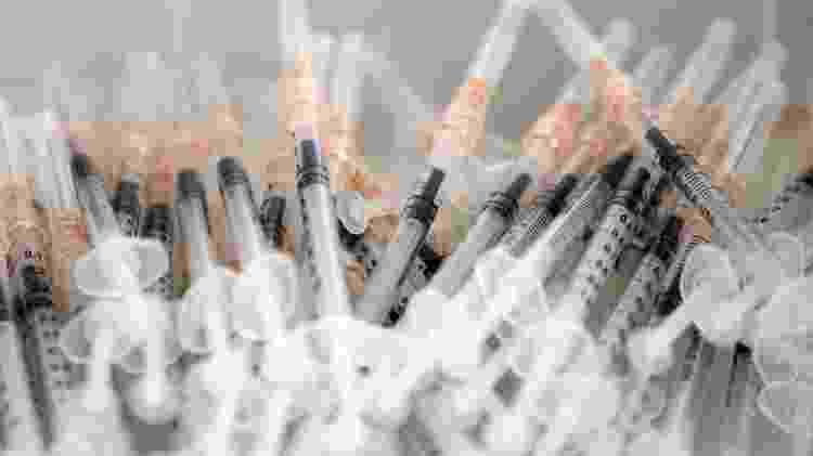 Vacinas -  Mike Groll / Gabinete do Governador Andrew M. Cuomo -  Mike Groll / Gabinete do Governador Andrew M. Cuomo