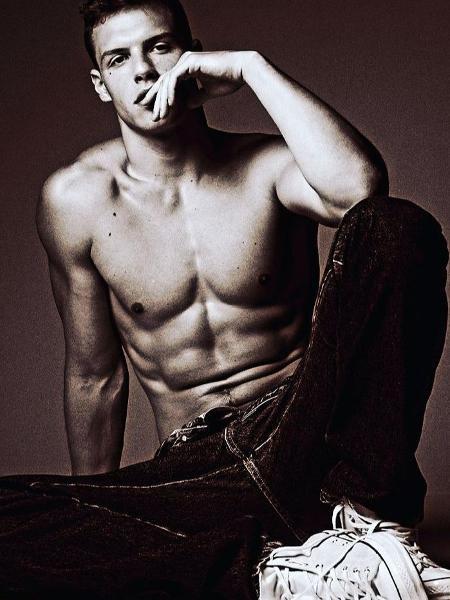 Bruno Facchini, filho de Luiza Tomé, é modelo da Ford Models - Reprodução / Instagram / Henrique Butcher