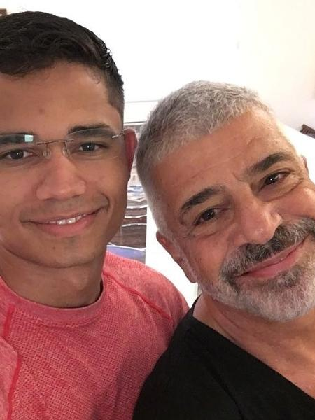 Lulu Santos exibe primeira foto tirada com Clebson Teixeira - Reprodução / Instagram