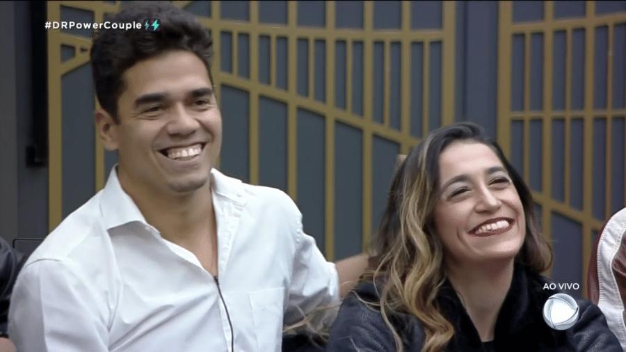 Power Couple: Dany e Fábio são o casal power da semana - Reprodução/Record TV